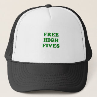 Free High Fives Trucker Hat