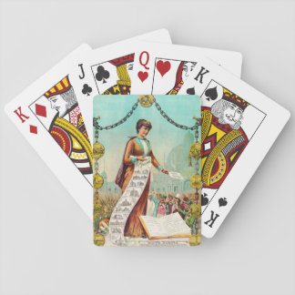 Free Homes 1890 Playing Cards