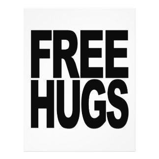 """Free Hugs 8.5"""" X 11"""" Flyer"""