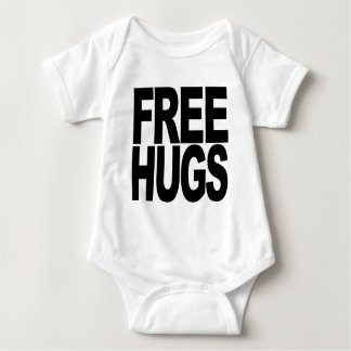 Free Hugs Baby Bodysuit
