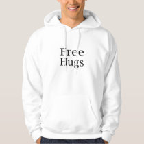 Free Hugs Basic Hooded Sweatshirt