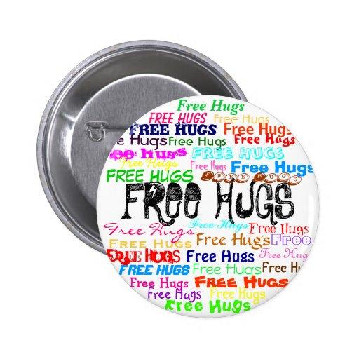 Free Hugs Pin