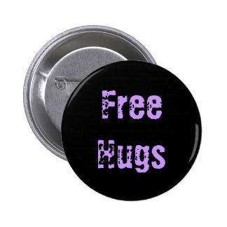Free Hugs Pinback Buttons