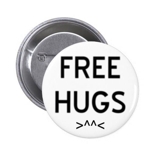 """Free Hugs"" Button"