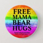 "Free Hugs Button<br><div class=""desc"">Serendipitydodah for Moms is a private Facebook group for moms of lgbtq kids</div>"