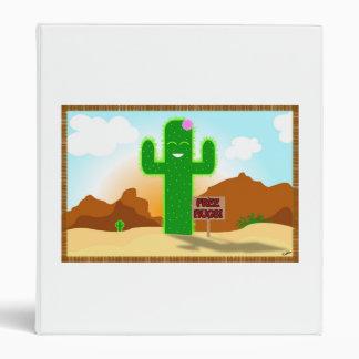 Free Hugs Cactus Binder