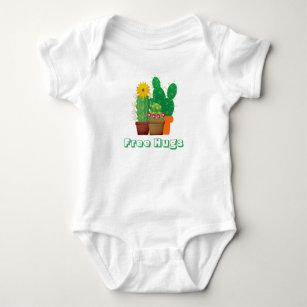 56b01ddbc Baby Cactus Hugs Onesies & Bodysuits | Zazzle