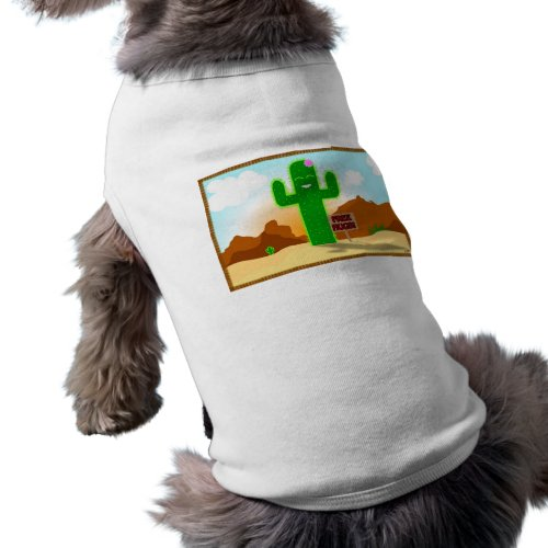 Free Hugs Cactus Pet Shirt