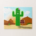 Free Hugs Cactus Puzzle