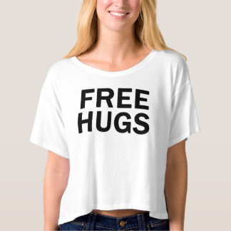 Free Hugs Crop Top - Women's Official