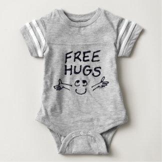 Free Hugs Cute Cartoon Baby Infant Bodysuit