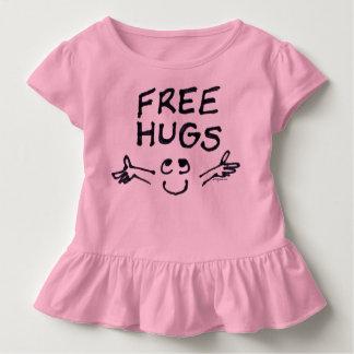 Free Hugs Cute Cartoon Toddler Toddler T-shirt