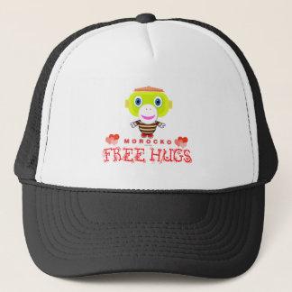 Free Hugs-Cute Monkey-Morocko Trucker Hat