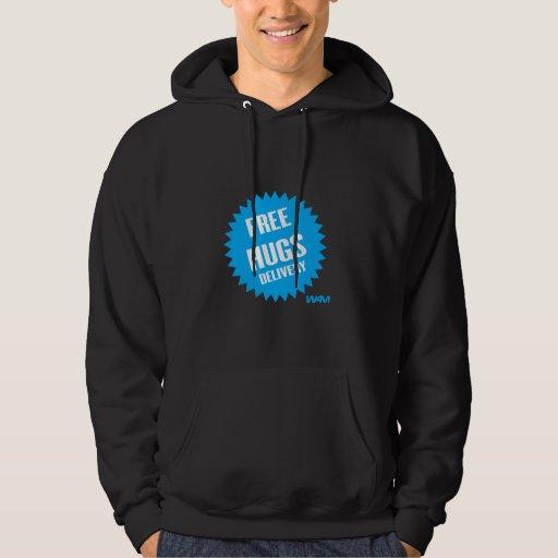 FREE HUGS DELIVERY - blue Sweatshirts