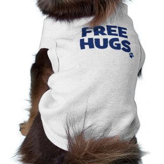 FREE HUGS DOG T SHIRT