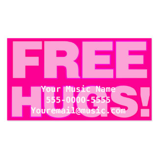Free Hugs Emo Business Cards Business Card