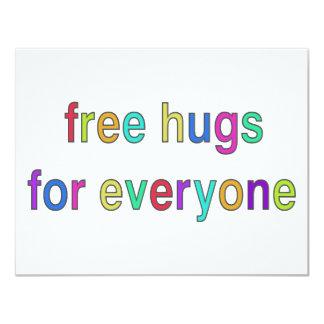 Free Hugs Funny Design! Card