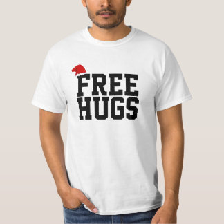 FREE HUGS Funny Xmas Shirt for Making Friends