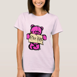 Free Hugs Girly T T-Shirt