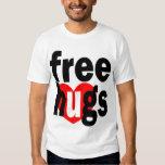 free hugs heart tees