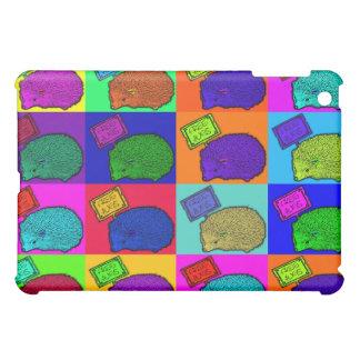 Free Hugs Hedgehog Colorful Pop Art Popart Case For The iPad Mini