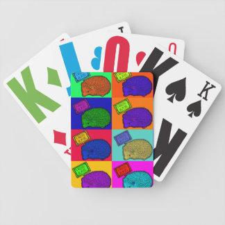 Free Hugs Hedgehog Colorful Pop Art Popart Bicycle Card Deck