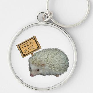 Free Hugs Hedgehog Keychain