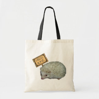 Free Hugs Hedgehog Tote Bag