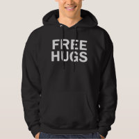 Free Hugs Hoodie Sweatshirt - Men's Official