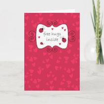 Free Hugs Inside Card