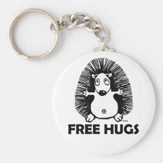 Free hugs key chains