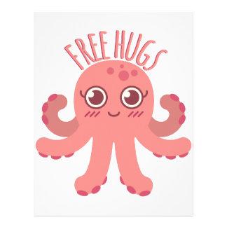 Free Hugs Letterhead