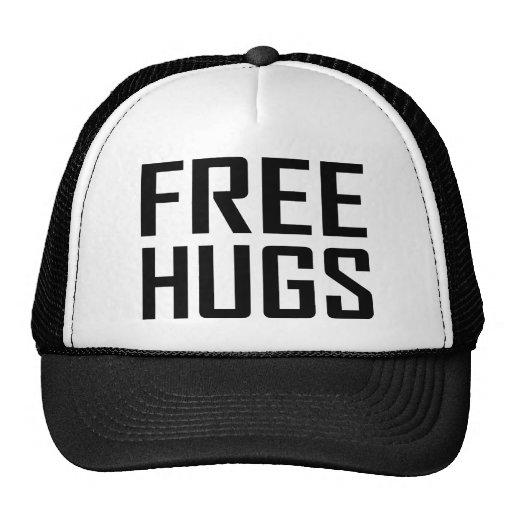 free hugs mesh hat