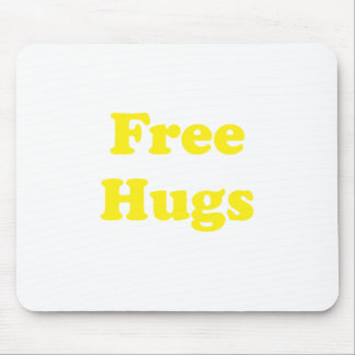 Free Hugs Mouse Pad