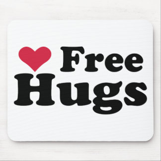 Free Hugs Mouse Pads