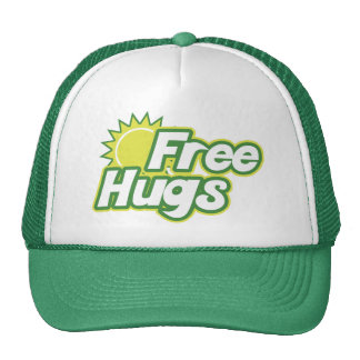 Free Hugs Novelty Trucker Hats