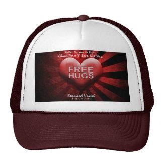 FREE HUGS - Peace & Love Trucker Hat