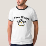 Free Hugs Penguin Adult T-shirt