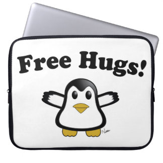 Free Hugs Penguin Laptop / Tablet Sleeve