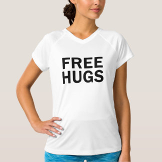 Free Hugs Performance V Neck - Women's Official T-Shirt