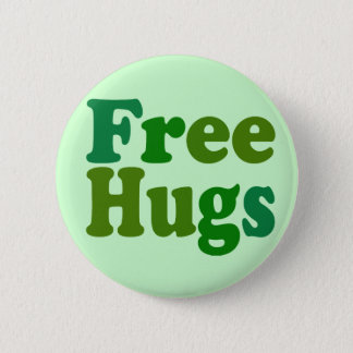 Free Hugs Pinback Button