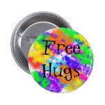 Free Hugs Pins