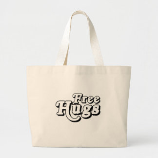 Free Hugs .png Canvas Bags