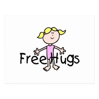 Free Hugs Post Cards