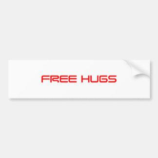 free-hugs-saved-red.png pegatina para auto
