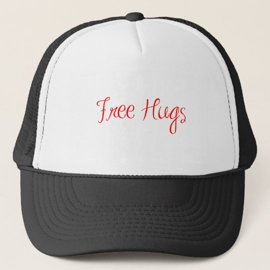 free-hugs-sexy-red.png trucker hat