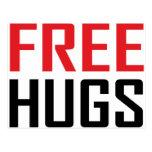 free hugs shirts post cards