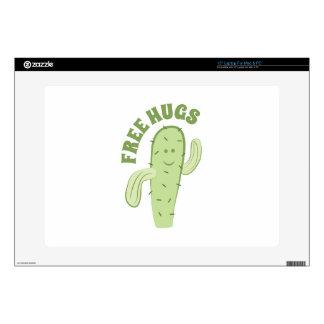 """Free Hugs 15"""" Laptop Skin"""
