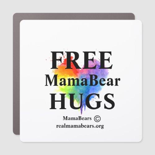 Free Hugs Splatter Heart Magnet