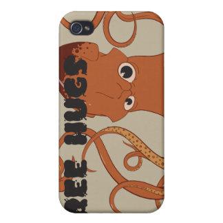 Free Hugs Squid iPhone 4 Case